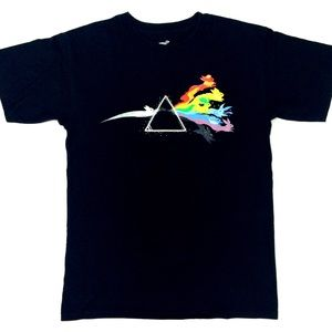 Rainbow 🌈 Graphic tee Pink Floyd band T-shirt top